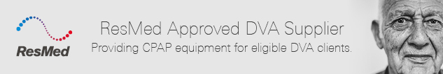 ResMed Approved DVA Supplier.