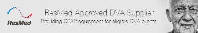 ResMed Approved DVA Supplier.